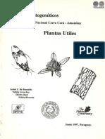 PLANTAS UTILES - RECURSOS FITOGENETICOS - 1987 - PORTALGUARANI