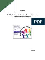 step i self reflection administrators