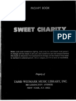 Sweet Charity Promptbook
