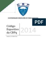 Codigo Esportivo CBPq