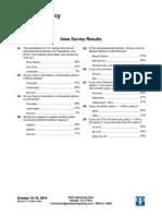 LCV poll in IA SEN 10.17.14