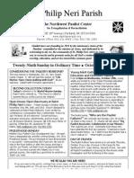 Bulletin Oct 19