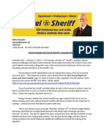 Bickel Campaign Fact Checks Sheriff's Campaign Debate