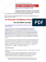 An Overview of Religious Financial Fraud