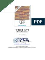 O QUE É MITO - Everardo P. Guimarães Rocha.doc
