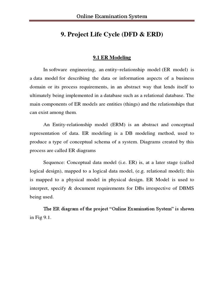 Examination of project documentation 13