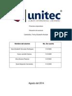 Informe de valuaciones de acciones.docx
