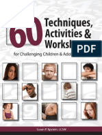 Over 60 Techniques Activities Worksheet - Susan Ep