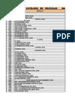 Catálogo de Películas MAYO 2014.xls