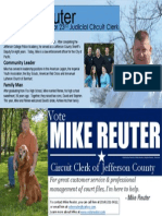 Vote Mike Reuter for Circuit Clerk