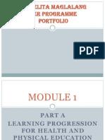 isabelita maglalang ter course portfolio