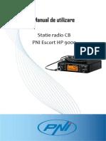 Manual Utilizare Statie CB PNI HP 9000