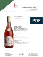 Gamay Rosé Rosé Des Rois