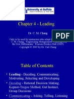 Chapter 4 - Leading