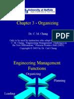 Chapter 3 - Organizing