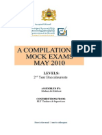 Mock Exam Compilation 2010