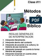 clase11 Metodos de Est Bibl.ppt