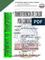 Calor de Conduccion - Fenomenos de Transportes.doc