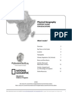 Physical Africa Guide national Geographics