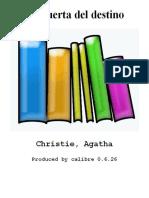 La puerta del destino - Christie_ Agatha.epub