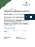 Austin ISD Ebola Parent letter