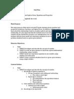 educ211 unit plan math
