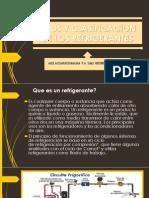 TIPOS Y CLASIFICACION DE LOS REFRIGERANTES.pptx