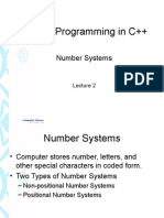 ITC and Programming in C++