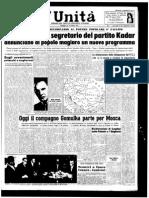 1a Unità 26 Ottobre 1956