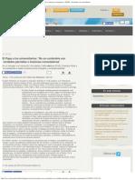 El Papa a los universitarios_ 'No os contentéis con verdades parciales o ilusion.pdf