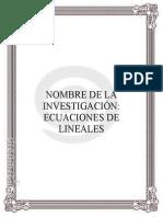 investigacion de ecuaciones lineales.doc