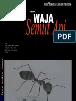 Presentation Projek Penghasilan Karya STPM tema WAJA
