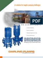 Dredger Pumps for Slurry