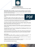 07-03-2012 Guillermo Padrés  encabezó la firma de contrato de distribución entre la empresa Sonorense Salsas Castillo y la japonesa Japan Pacific Trading and Consulting. B031231