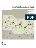 Metro Gold Line Foothill Extension Map