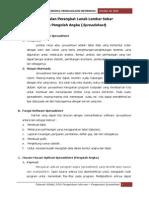 Pengertian Software Spreadsheet