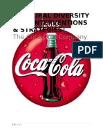 Cultural Diversity - H.R Interventions & strategies- Coca Cola Company