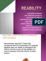 REABILITY p p