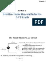 Module 2 - RLC Circuits