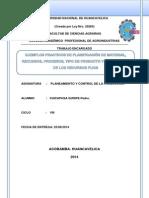 EJEMPLOS PRACTICOS DE PLANIFICACIÓN DE MATERIAL, RECURSOS, PROCESOS, TIPO DE PRODUCTO Y DESARROLLO DE LOS RECURSOS FIJOS.docx