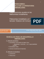 El Fideicomiso y la Operatoria Inmobiliaria.ppt