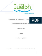 OvertimeAudit Report