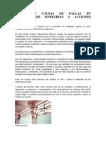 PRINCIPALES CAUSAS DE FALLAS EN EDIFICACIONES SOMETIDAS A ACCIONES SISMICAS.docx