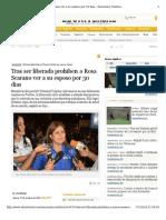 Tras ser liberada prohiben a Rosa Scarano ver a su esposo por 30 días.pdf