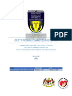 Bm Gestational Diabetes Mellitus