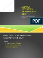Ace Your Expository Essay