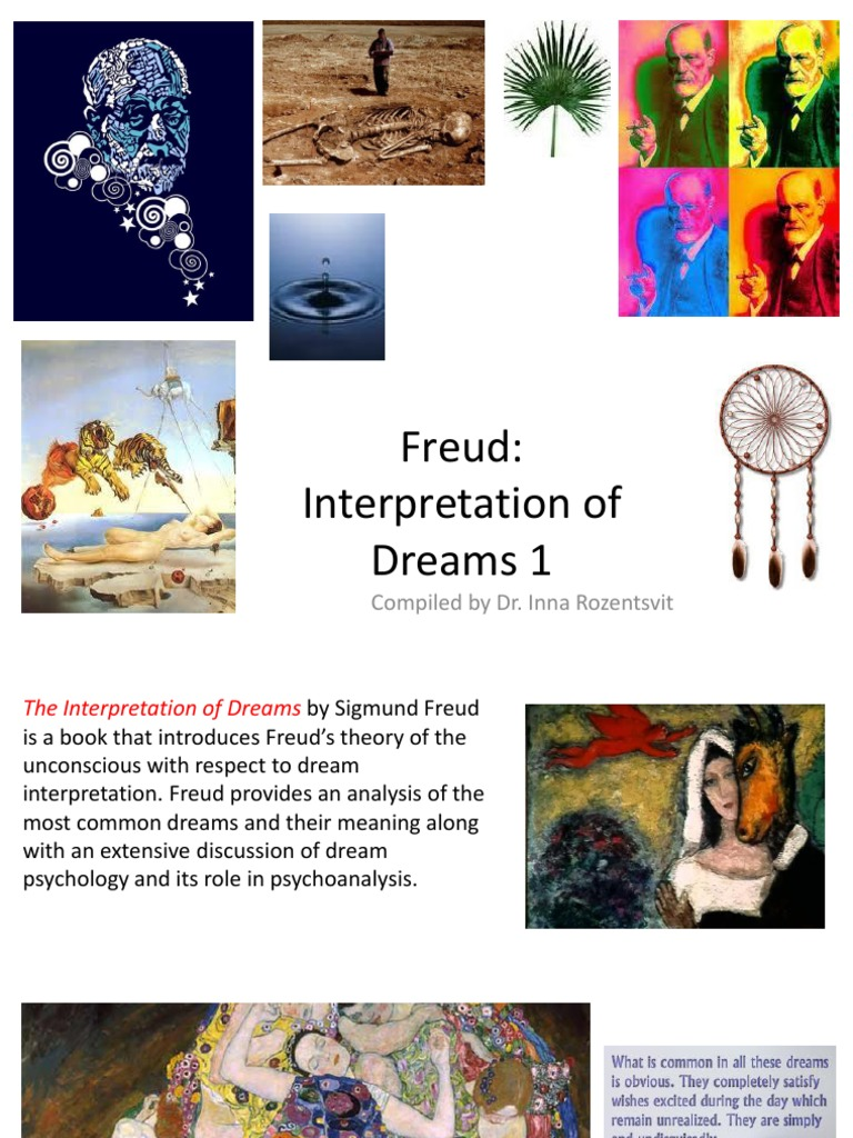 Freud Interpretation Of Dreams Dream Unconscious Mind
