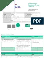 carolyn hernandez performance and development plan 2014 - 2015