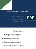 Metamorfismo en Bolivia