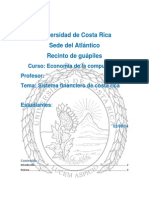 Sistema Financiero de Costa Rica